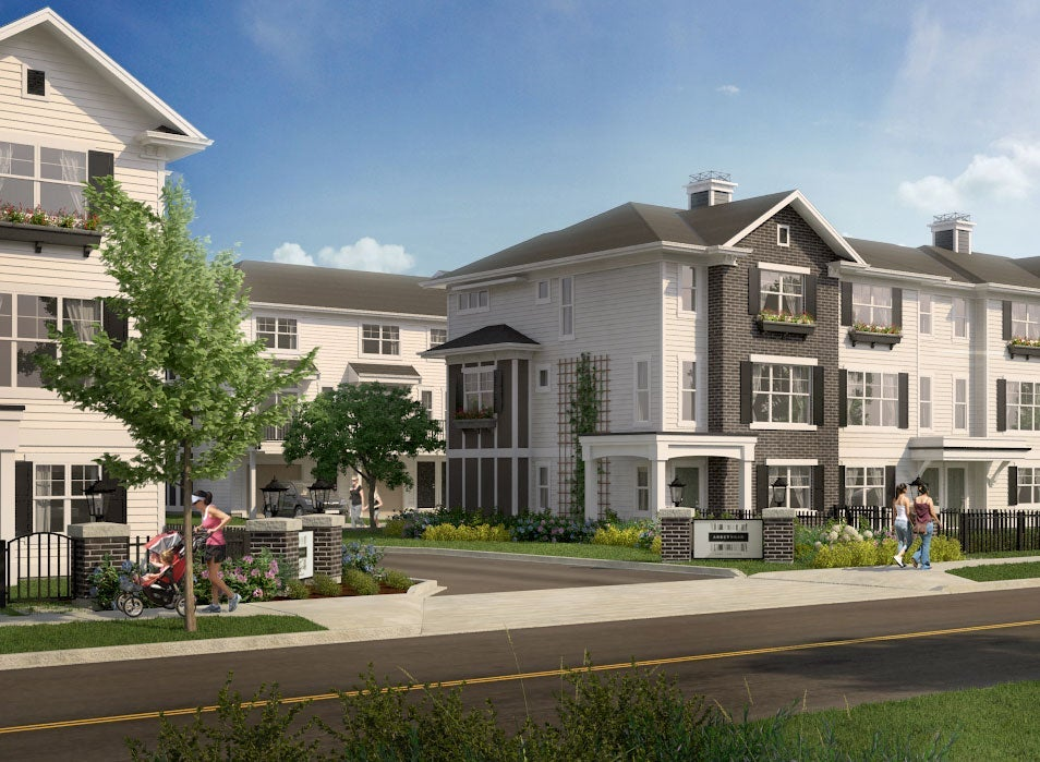Abbey Road Townhomes in White Rock South Surrey - Grandview Morgan Crossing Area